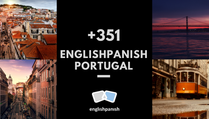 Englishpanish Portugal