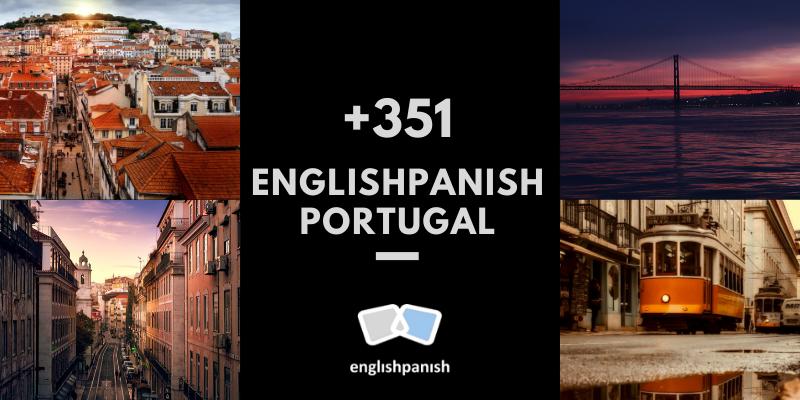 Englishpanish Portugal